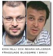 Emin Milli och Adnan Hajizada