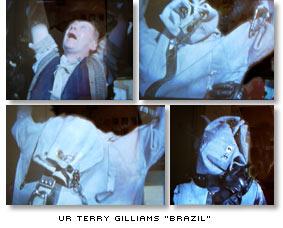 Scener från Terry Gilliams film Brazil