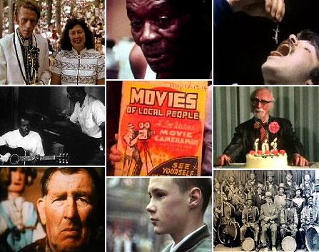 bilder från www.folkstreams.nets samling av amerikanska dokumentärfilmer