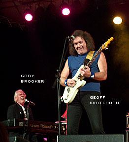 Gary Brokker och Geoff Whitehorn
