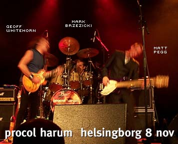 Procol Harum i Helsingborg 8 nov 2003