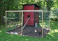 Ekängen har eget hönhus