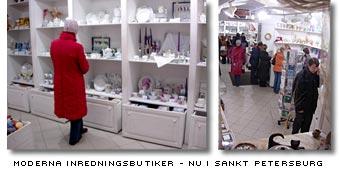 Moderna inredningsbutiker nu i Sankt Petersburg