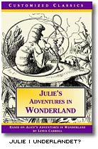 Omslag till Julie in Wonderland
