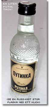 En flaska rysk