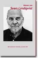 Omslag till ABFs bok Röster om Sven Linsqvist
