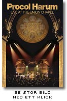 Live at Union Chapel-DVD med Procol Harum