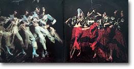 Flamencodansande par på insidan av Carmens debut-LP 'Fandangos in space'
