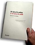 Kompendiet 'Att skriva för webb är att skriva för publik'