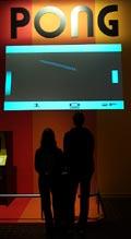 Spela klassiska Pong på Barbicans utställning i London