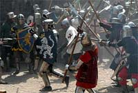 Ryska knektar anfaller Viborg